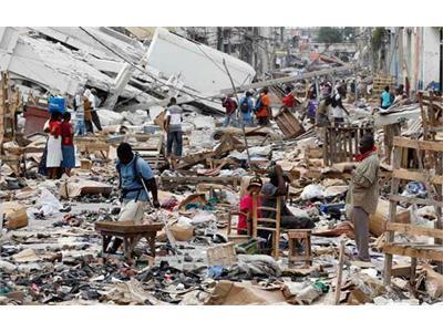 Martinique haiti quatre apr s le s isme meurtrier domactu for Chambre sociale 13 janvier 2010