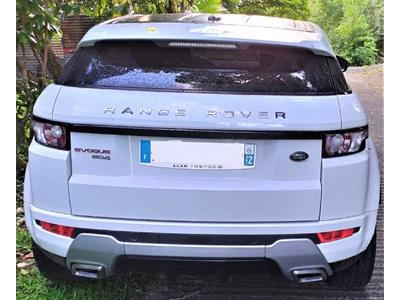 LAND ROVER EVOQUE LIMITED GARANTIE 12 MOIS photo #4