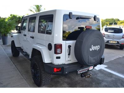 JEEP WRANGLER Wrangler 2.8 CRD 200 Unlimited Sahara photo #5
