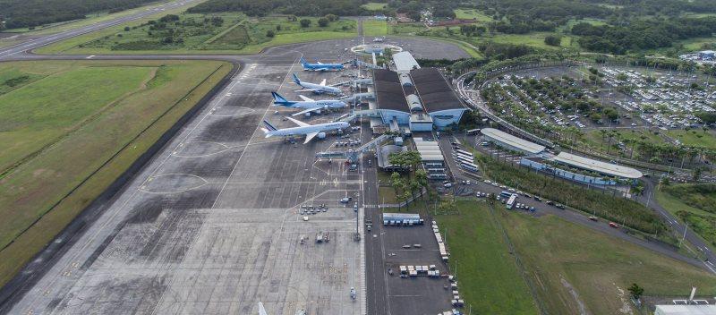 Photo Aéroport Guadeloupe Pôle Caraïbes